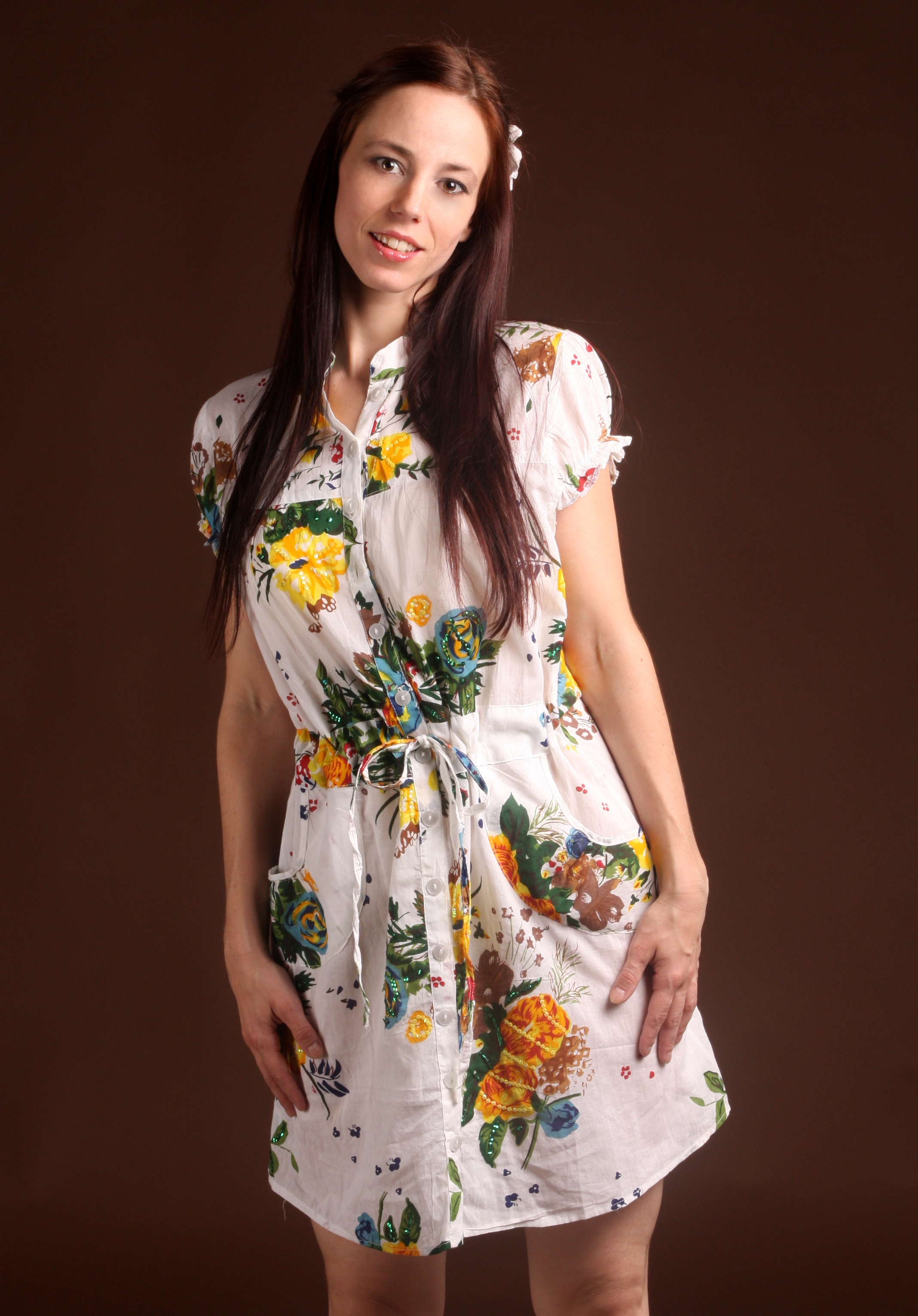 Ladies Dresses - Cotton Printed Dress and Cotton Hand ...